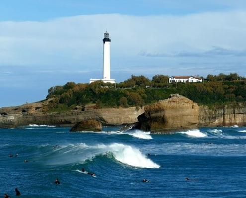 où surfer à marée haute dans le sud ouest