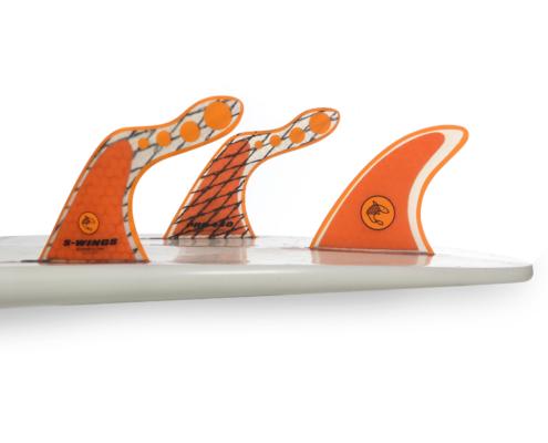 Dérive de planches de surf S wing