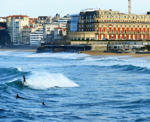 biarritz berceau du surf en europe