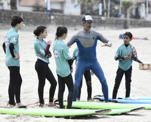 cours de surf homie boards