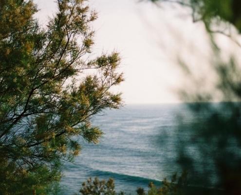 côte des basques vagues