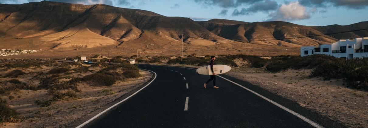 transport planche de surf